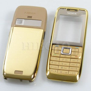 Nokia E51 golden housing