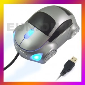 Car Shape USB 3D Optical Mouse Mice for PC/Laptop