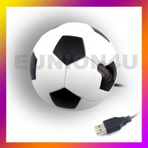 SOCCER FOOTBALL USB 3D Optical Mouse Mice PC/Laptop