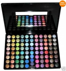 Professional Ultra Shimmer 88 Palette eye Shadow makeup