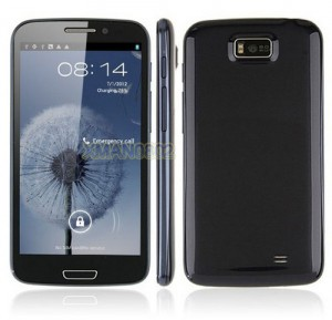 "5.3"" Capacitive IPS Android 4.0 MTK6577 GPS 3G Phone i9300+"